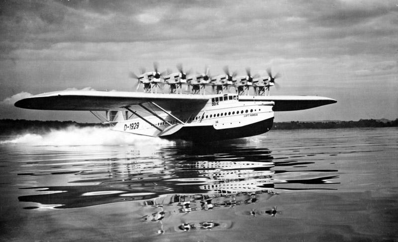 A Dornier Flying Boat.