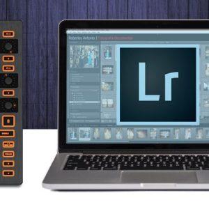 Usando o Adobe Lightroom com um controlador MIDI