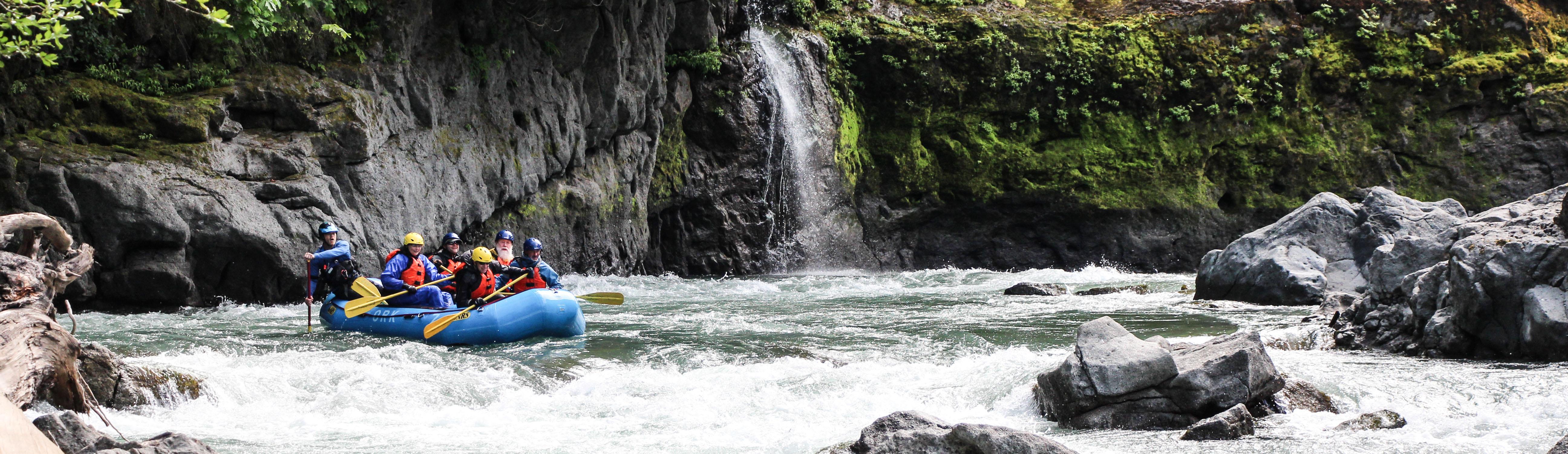 Elwha River waterfall
