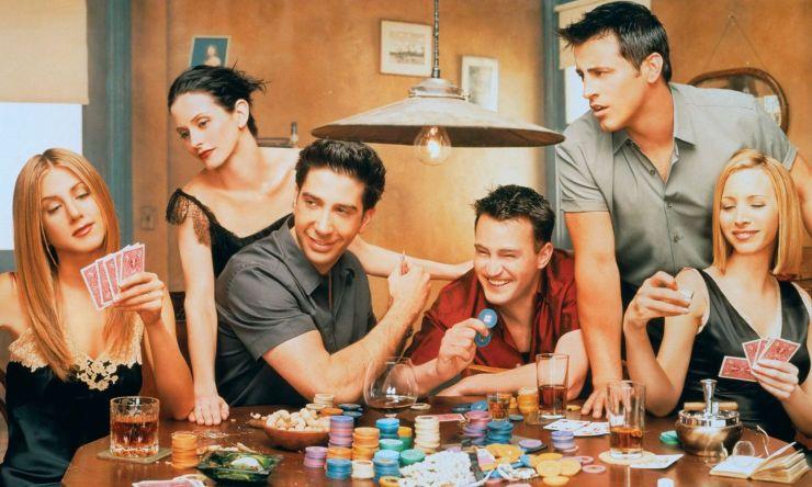 IMDb, Friends, posturi TV, seriale, Comedy Central