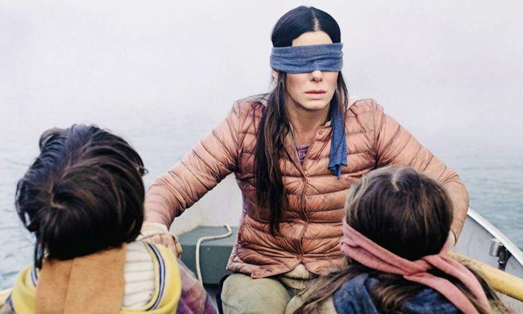 Bird Box, Sandra Bullock, Netflix, cronică de film, recenzie Bird Box