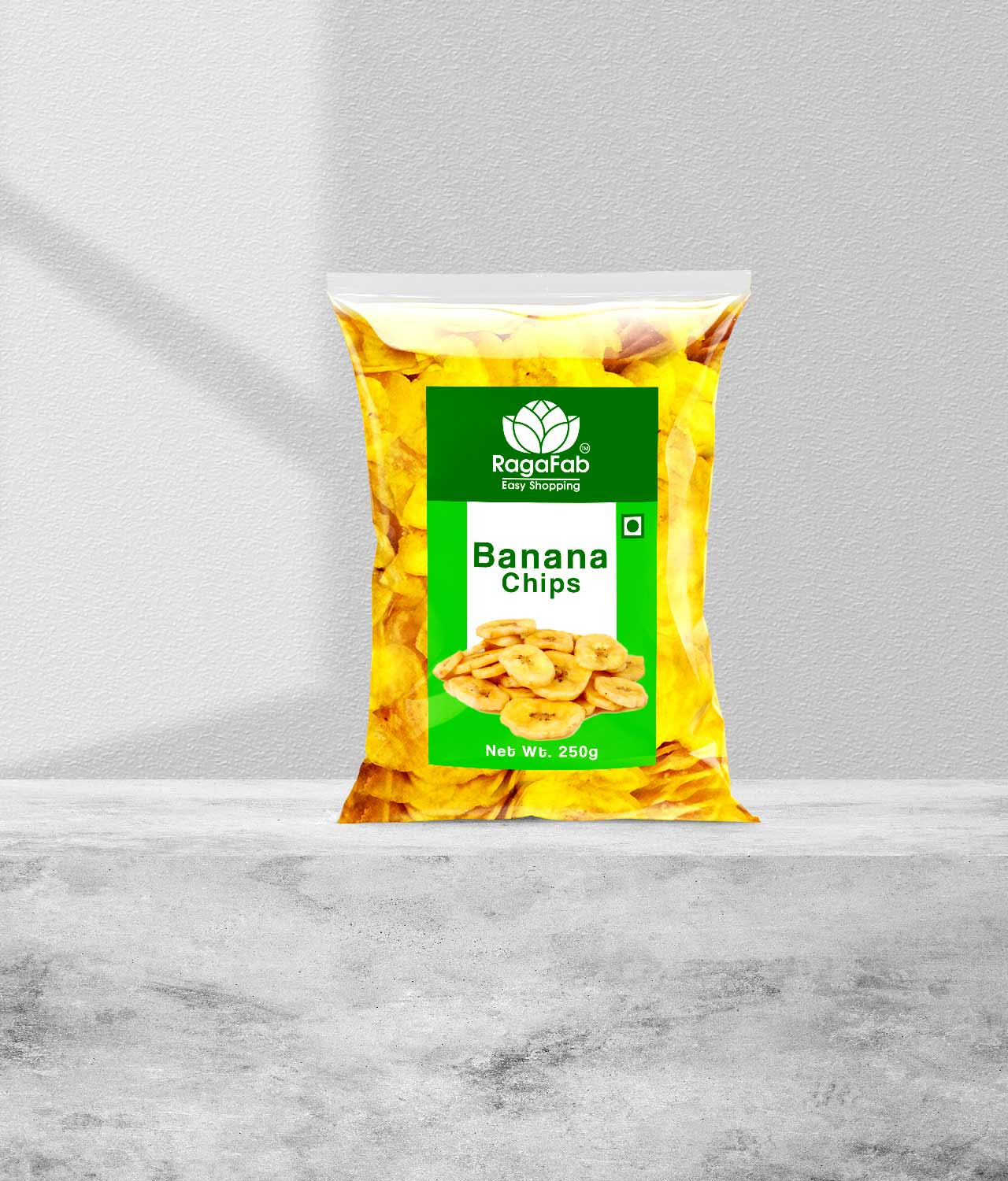 Buy RagaFab Banana Chips 250gm Pouch | Flavours Of Kerala