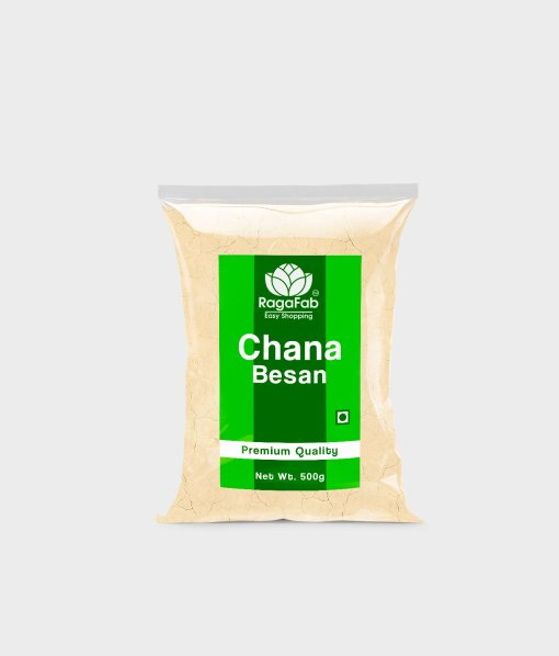 Buy RagaFab Chana Besan 500 gm Online At Best Price