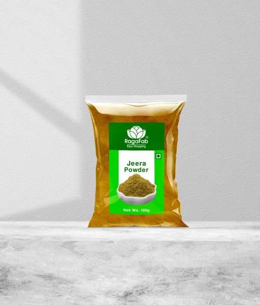 Buy RagaFab Organic Jeera Powder 100gm Pouch | RagaFab