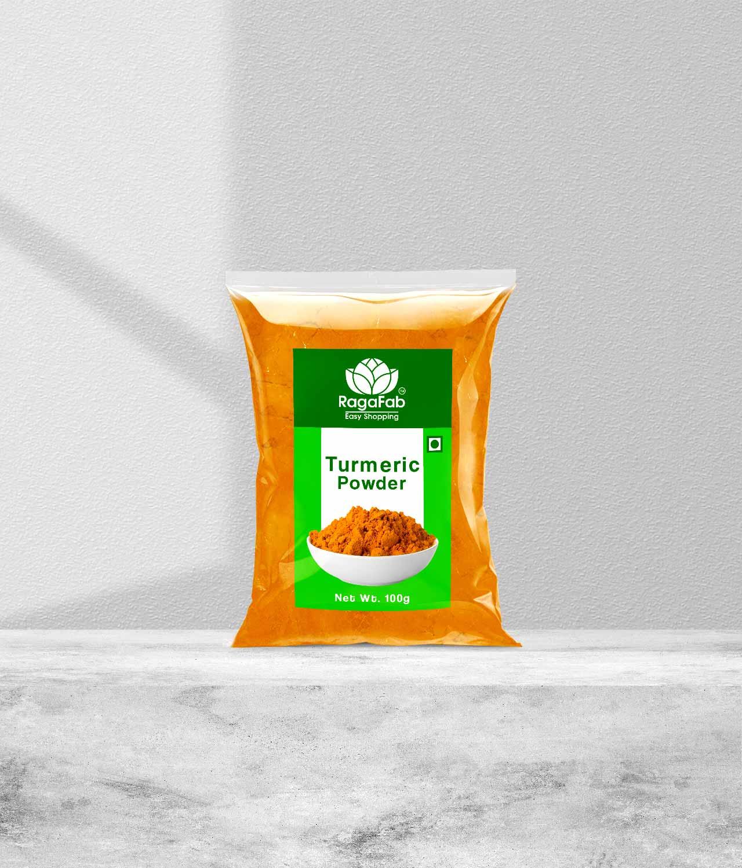 Buy RagaFab Organic Turmeric Powder 100 g Pouch |Just 28/-