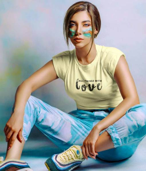 Buy Women's Graphic T shirts Trendy Tees At Low Price