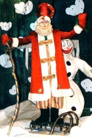 Kalėdų Senis ir Besmegenis