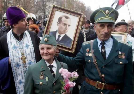 Výsledek obrázku pro fotografie Ukrajina Bandera