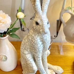 Paul Jenkins Raku Large Sitting Hare