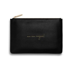 Katie Loxton Perfect Pouch – Make Today Magical Black