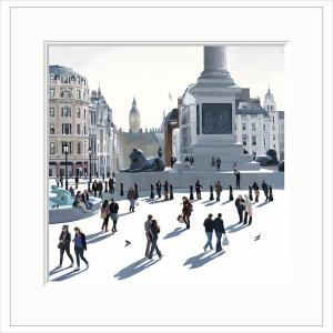 Framed Trafalgar Square Mounted Limited Edition Print