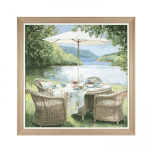 Alfresco – Framed Print