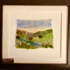 'Down The Beck' – Art In Felt By Sarah Roche