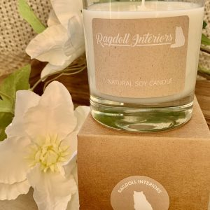 Natural Soy Candle With Essential Oils – Fresh Linen