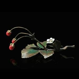 Richard Cooper Limited Edition Bronze – Wild Strawberries