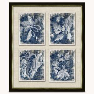 Lexington Framed Botanical Art Work 1