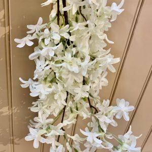 White Jamine – Silk Flowers