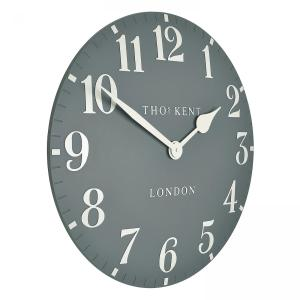 Thomas Kent 20″ Wall Clock  – Flax Blue