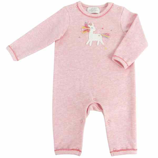 Crochet Unicorn Star Babygrow 0-3