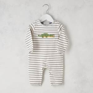 Crochet Croco Babygrow 0 3