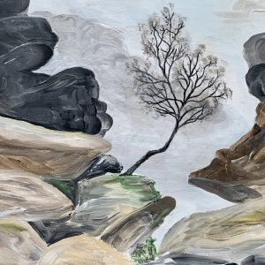 Brimham Rocks – Original Artwork On Canvas