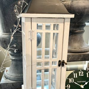 Lakota Lantern White H52cm