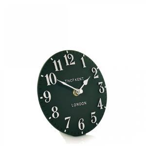 Thomas Kent 6″ Arabic Mantel Clock – Forest