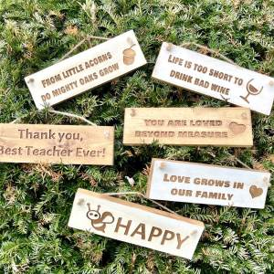 Rustic Small 30cm Wooden Sign – You Are Loved Beyond Measure