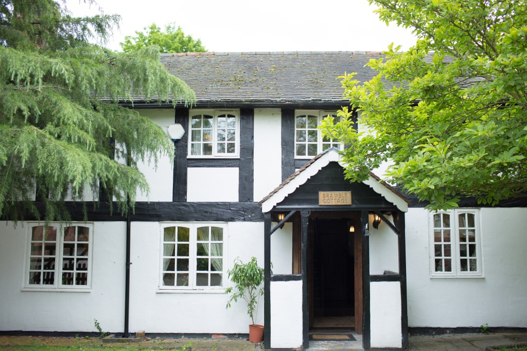 Bramble cottage at the Mytton and Mermaid