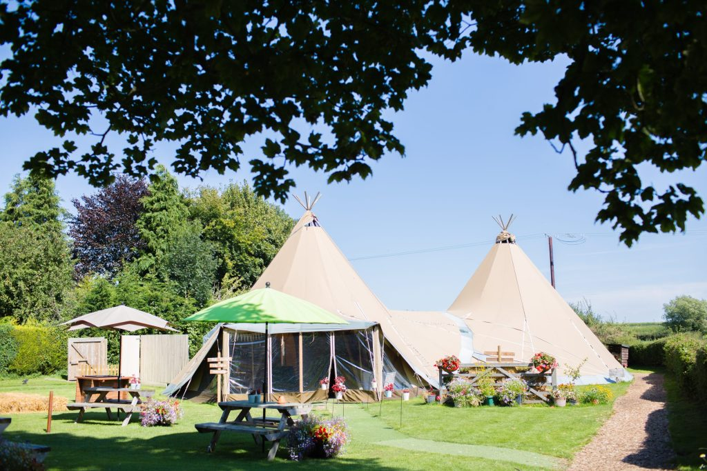 tipi at the wroxeter hotel