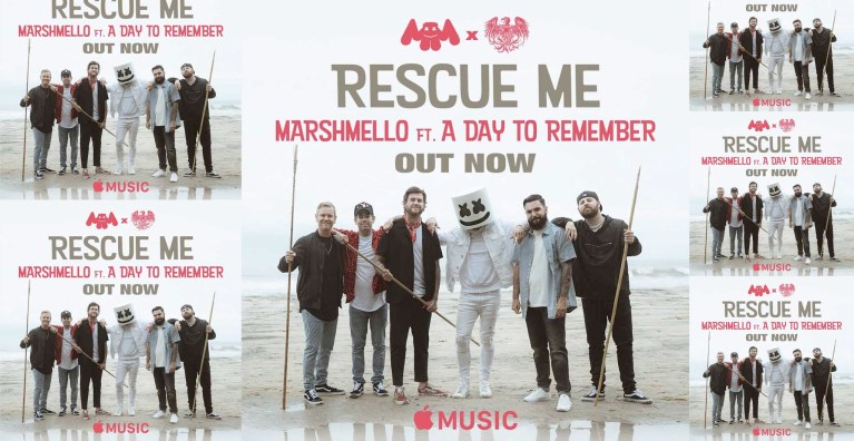 Rescue Me By Marshmello Feat. A Day To Remember