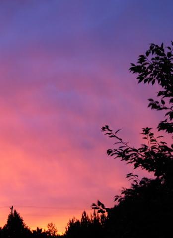 Sunset, Evening Rainbow - 1