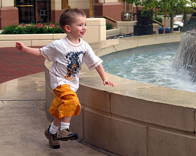 Jack at the Fountain