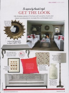 Period Home features Arabella Pink Cushion