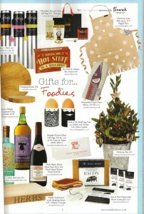 Wealden Times November 2015 features Billy Christmas Taupe Apron