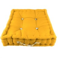 Jacky Golden Yellow Garden Floor Cushion