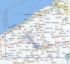 Chautauqua movement map