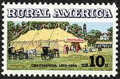 Chautauqua movement stamp