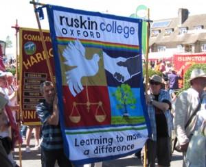 Ruskin College Banner