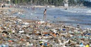 plastic refuse in the environment