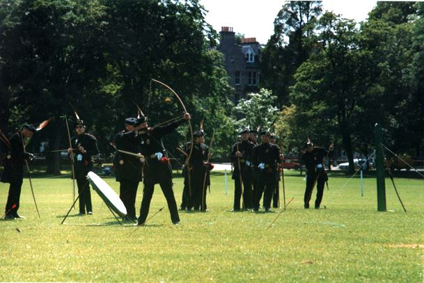Archers on the meadows