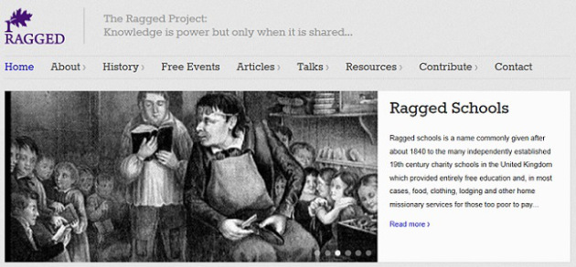 Ragged website