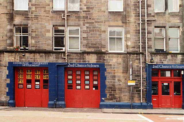 Edinburgh Settlements Second Chance To Learn
