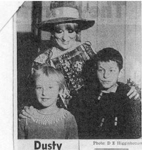 Dusty springfield at Sharp Street Ragged Schools article