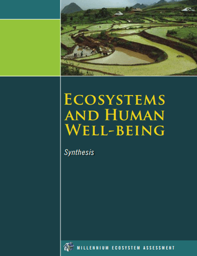 Ecosystems and Human Wellbeing