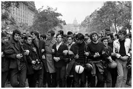 Street Revolt Paris 1968