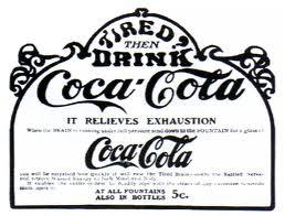 Coca Cola tonic drink