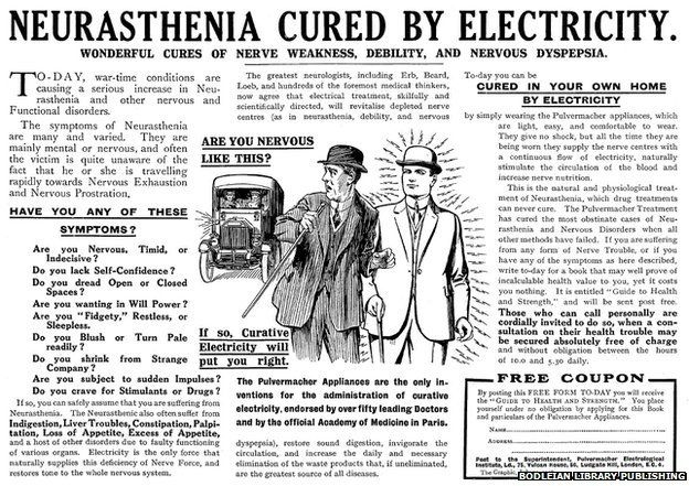 Electroconvulsive therapy for Neurasthenia