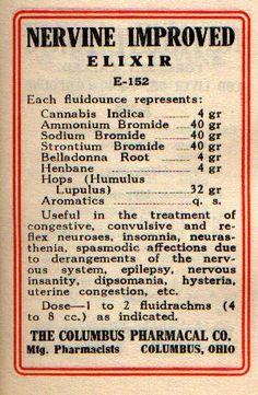 Nervine Improved Elixor Formula