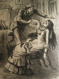 Woman fainting from neurastheniaDr George Beard, inventor of term 'neurosthenia'